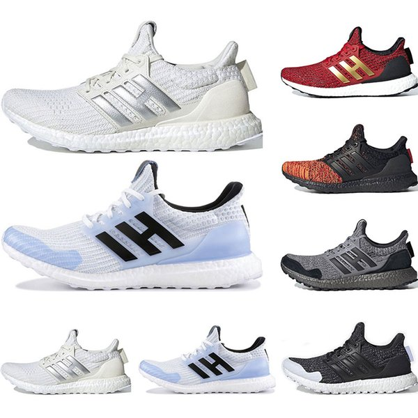 2019 GAME OF THRONES x ultra boost running shoes for men womens White Walker Targaryen Dragons Nights Watch House Targaryen sports sneaker