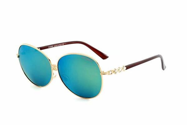 2019 новый бренд дизайнер солнцезащитные очки высокое качество металла шарнир солнцезащитные очки мужчины очки Женщины солнцезащитные очки 4302 объектив унисекс с коробкой 5316