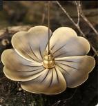 Fornello per incenso Fornace Soggiorno Lega Lega Catcher Stick Burner Profumo Home Metal Flower Shape Aromatherapy Vintage