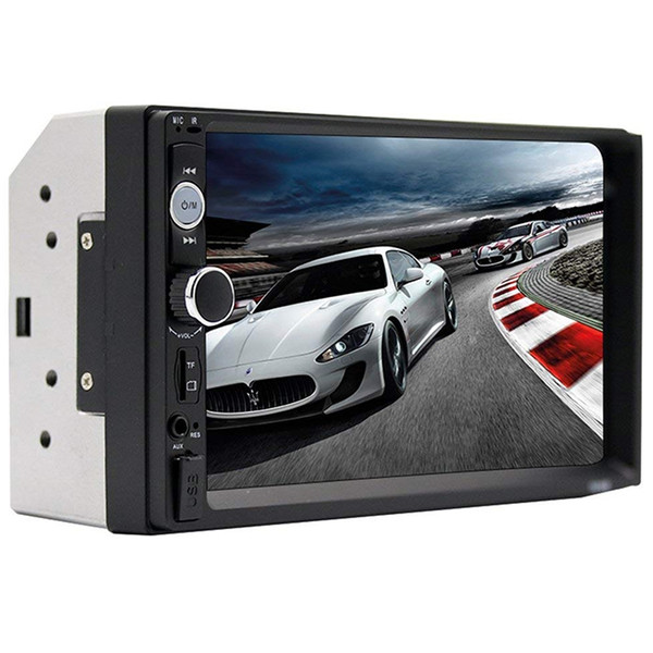 7010B 7 inch car dvd Cae Bluetooth Hands-free Audio Display MP3 MP5 Player