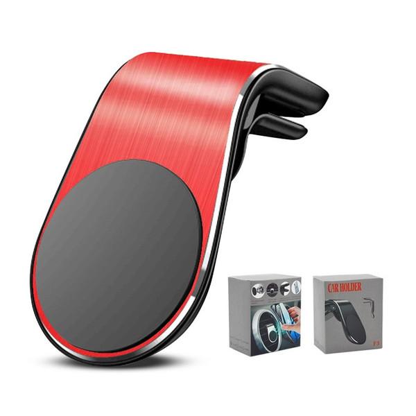 Nouvelle mode Support voiture Air Vent magnétique téléphone Support Voiture pour iPhone 11 pro max Dashboard GPS avec Retail Box Béquille