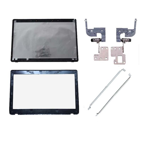 Aptop-Taschen-Fälle Laptop-Abdeckung für SUS 52 A52 X52 52F K52J K52JK A52JR x52JV A52J 13GNXZ1AM044-1 LCD-Back-Abdeckung / LCD-Front-Lünette / Scharniere / B ...