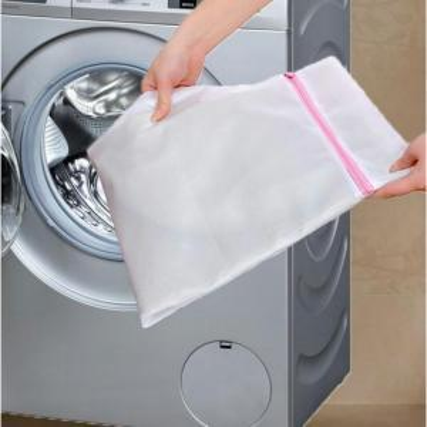 Laundry Mesh Net Washing Bag Clothes bra sox Lingerie Socks Zipped Laundry Bags Washing Machine Cleaning Clothing Bags FFA1461