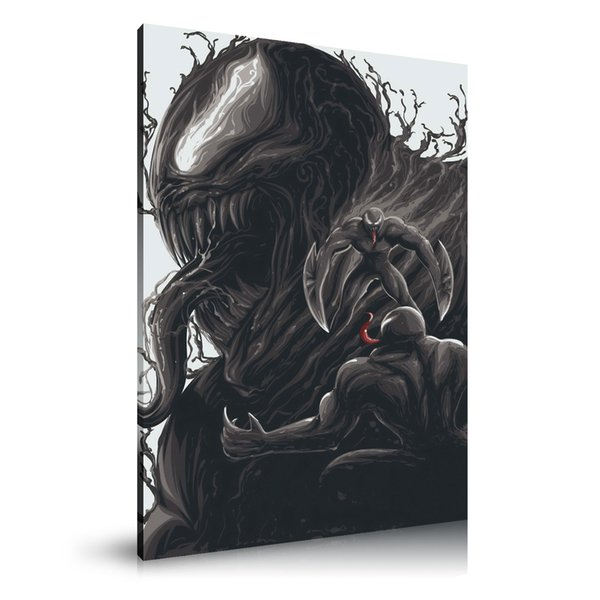 HD Printed Movie Posters Oil Painting Home Decoration Wall Art on Canvas Venom #38 24x36inch Unframed