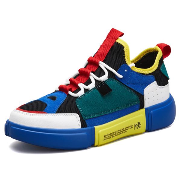 2018 Erkekler Günlük Ayakkabılar Nefes Sneakers Erkek Yaz Ayakkabı Karşıtı Savrulma ayakkabı erkekler Zapatillas Loafers Eğitmenler Chaussures Homme
