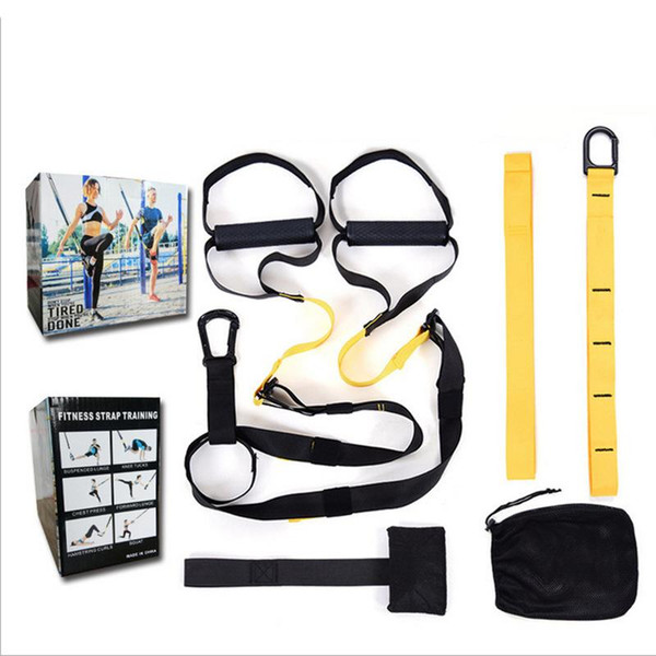 best selling Hanging Training Belt Suspension Trainer Tension Band Pulling Rope Sports Abdominal Exercising Band Training Belt