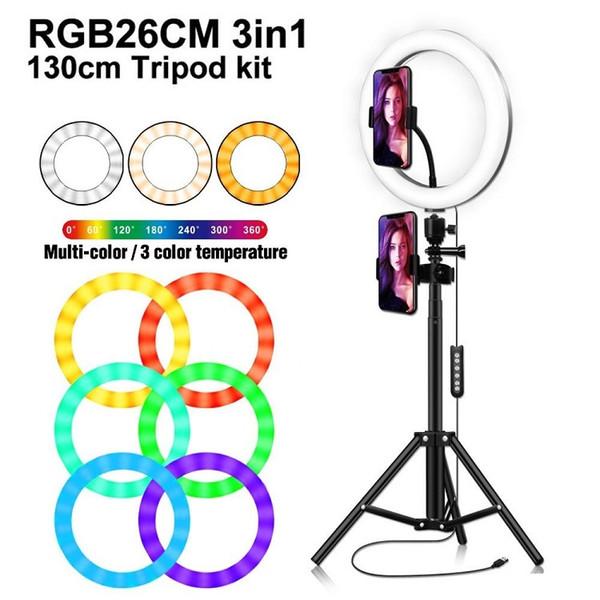 LED multi-couleurs Video Light avec support pour Caméra 10