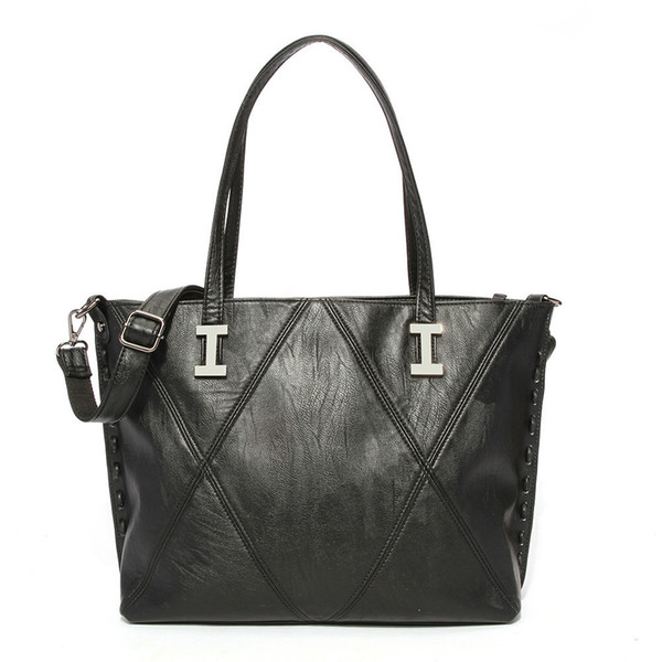 Women Leather Handbags Pu Leather Top Handle Big Tote Bags Female Crossbody Bag Large Capacity Office Lady Shoulder Bags
