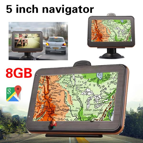 FM 3D Live View Map Electronics Car Navigator Multifunctional Digital Vehicle GPS Navigator Portable Electronic Album
