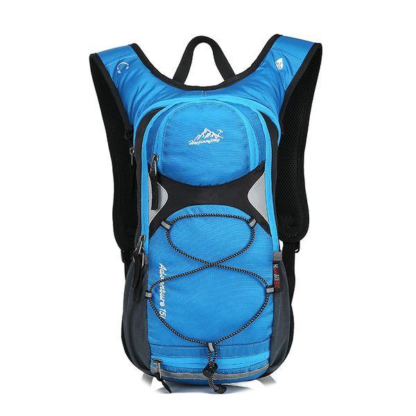 top popular HUWAIJIANFENG Outdoor Sports 15L Cycling Riding Camelback Reflective Camping Climbing Hydration Backpack Hiking Water Bags 2019