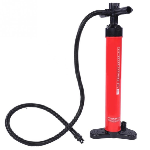 20psi Cycling Pump Mountain Road Bike Foot Pump Bicycle Motorcycle Inflatable Surfboard Inflator with a mini air pressure gauge #535784