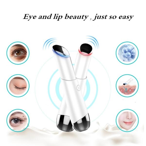 Appareil de massage des yeux électrique Thérapie de photons aux ions négatifs Élimination des rides Anti-vieillissement Masseur Beauté Machine Outils de soins de la peau des yeux