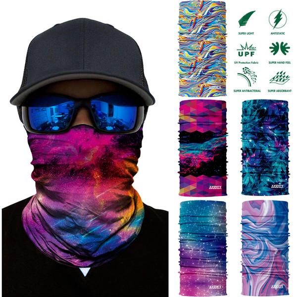 Magic Headwear Star Mobile Outdoor Scarf Headbands Bandana Mask Neck Gaiter Head Wrap Mask Sweatband