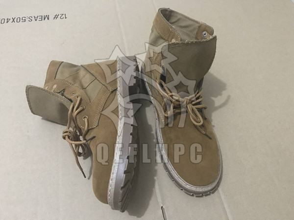 Men shoes keep warm in winter Work & Safety Snow Boots Black fashion casual shoes Soft soles Sports style Brown Waterproof Suede boots QAS12