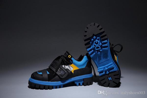 2020 Frauen der Männer Chaussures Schuh Schöne Plattform-beiläufige Turnschuh-Luxus-Designer-Schuh-Leder Volltonfarben Eleganter Schuh ml19120601