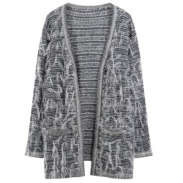 Luxury Womens Designer Sweaters Fashion V Neck Long Cardigan Female Casual Tassel Apparel