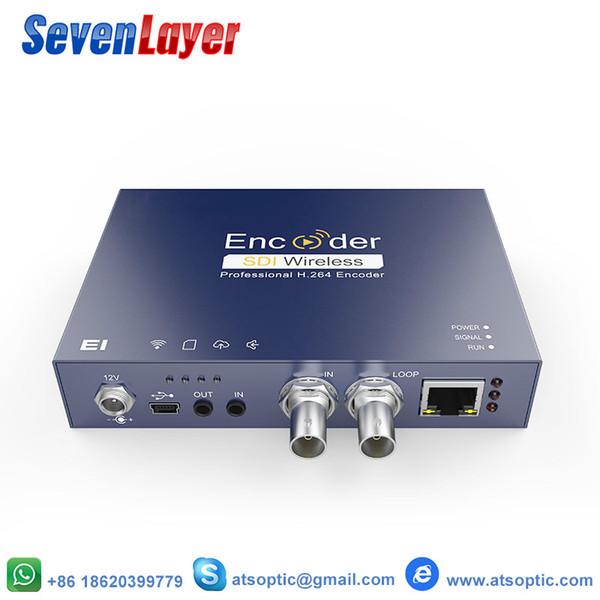 H.264 1080P HD SDI IPTV Video Akış Kodlayıcı