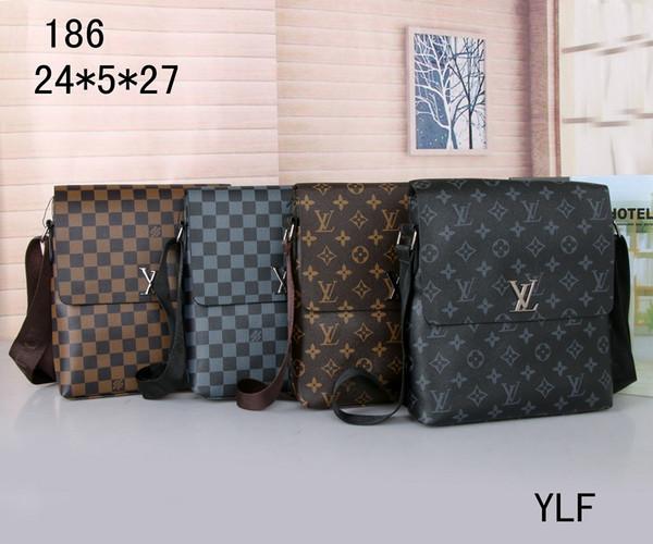 best selling Free Delivery of New Men's Bag High Quality Single Shoulder Bag Slant Bag Handbag Business Leisure Briefcase