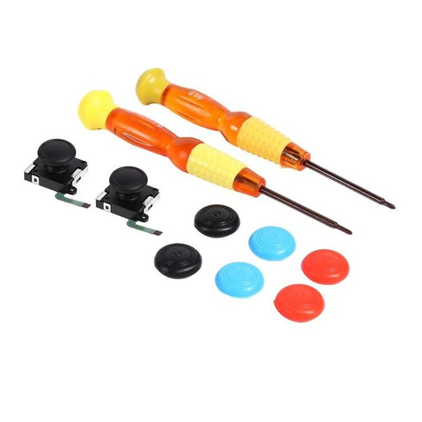 Module de capteur de manette de jeu analogique 3D Gamepad avec ajustement de tournevis pour commutateur Nintend gamme complète et étendue du champ d'application