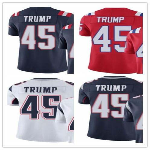 hot sale online 21858 26162 2019 Wholesale 2018 New England Patriots Sport Baseball Clothing 45 Donald  Trump Men/WOMEN/YOUTH Outdoor Clothing Legend Baseball Jersey From ...