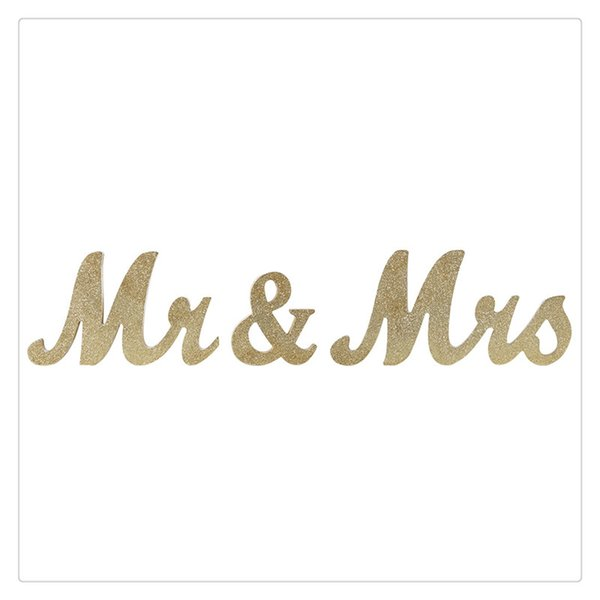 2019 Wooden Letters Vintage Style For Wedding Decoration Diy Decoration Handle Accidental Table Without Falling Over Party Decor From Verynicestore