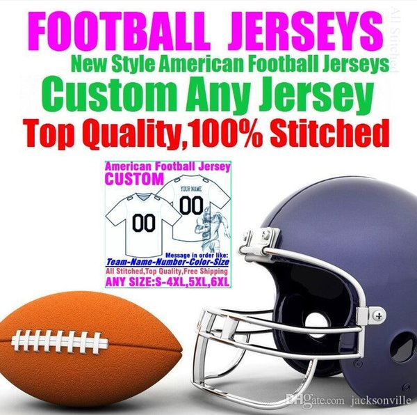 Personalized american football jerseys Custom Tennessee Denver college authentic cheap baseball basketball hockey jersey 4xl 5xl 7xl york