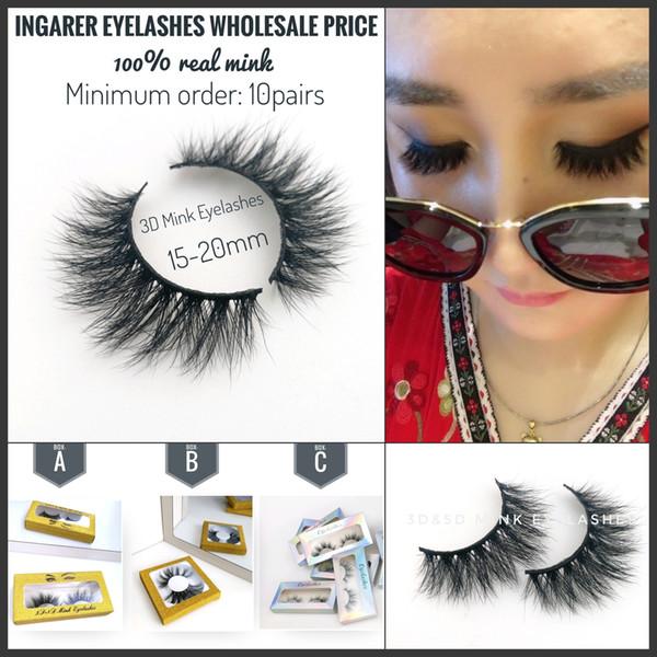 3D Nerz Wimpern Augen Make-up Natürliche Curling Gefälschte Wimpern Wimpernverlängerung 5D 25mm Nerz Falsche Wimpern Beauty Tools 25styles Mixed Order
