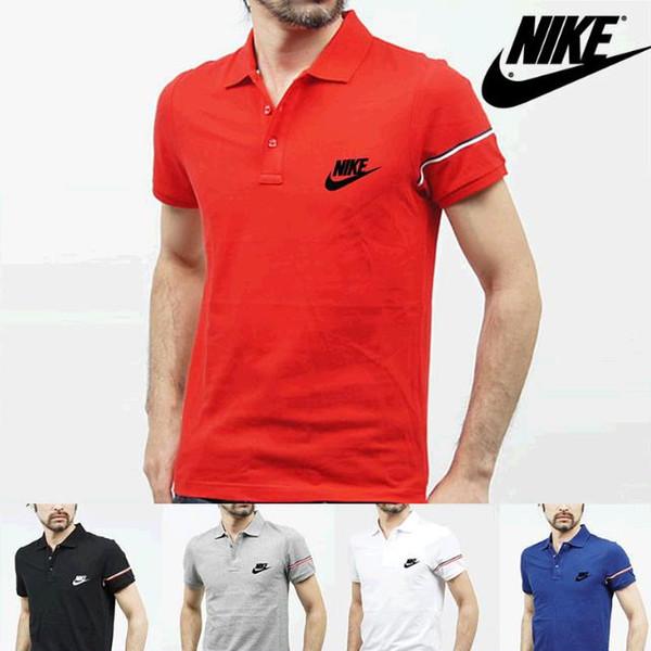 Marcas Novos homens designers fallow mangas curtas camisa polo T-shirt Bordado t Shirt Para Homens luxurys Poloshirt Homens Algodão Curto