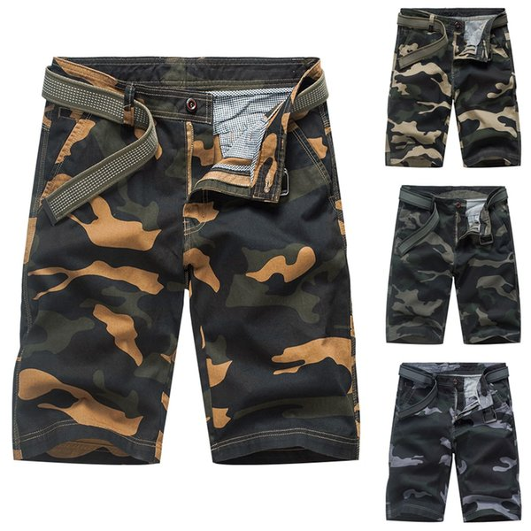 Summer Fashion New Shorts men Multi-pocket Outdoors Work Trouser Cargo Short Pants Man Shorts Size 28-38