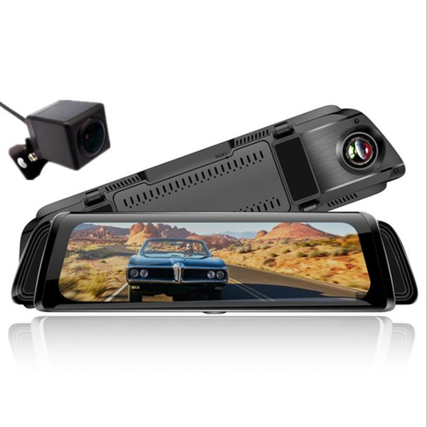 7 / 10 inch Automobile 0.5MP Car DVR CCTV Dash Camera 170 Degree Wide Angle Lens G-Sensor Vehicle Video Cam Recorder