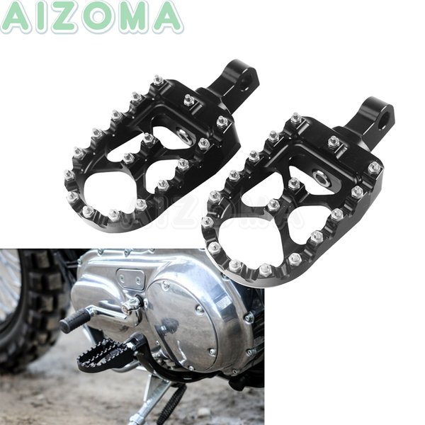 1 Pair Rear Passanger Footrest Footpegs Pedals for BMW R1200GS LC