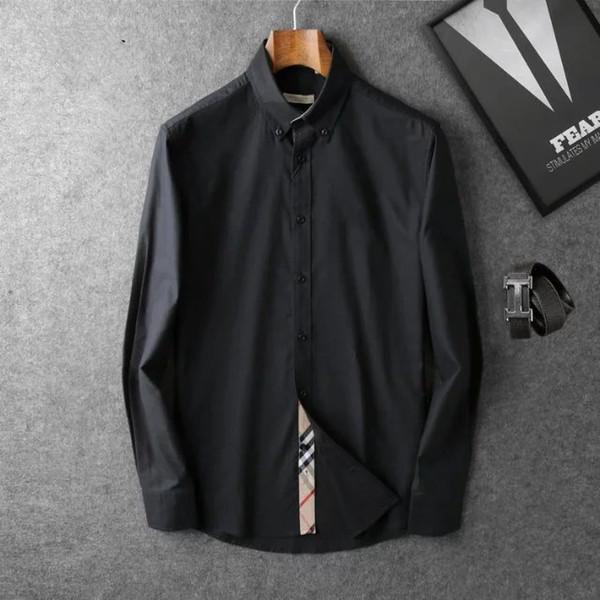 2019 persone elencate sulla nuova T-shirt manica corta di moda per il tempo libero d'affari in estate il colletto della tua marca 008 stile camicia