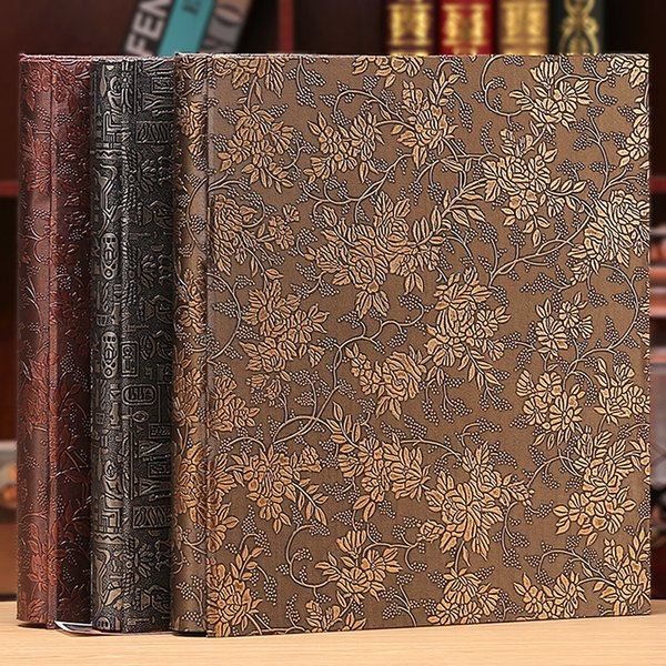 6 Inch 800 Plastic Pockets Photo Album Family Insert Large Capacity Leather Cover Gallery Family Memory Record Scrapbook Album Sh190910 Gift Items For