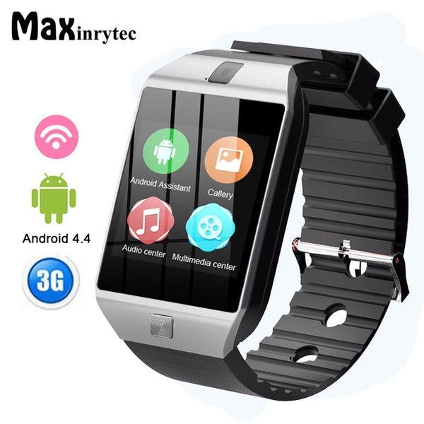 QW09 3G Smart Watch Phone Android 4.4 512MB 4GB Support WIFI Real-Pedometer SIM Card Call Smartwatch Men Women PK DZ09