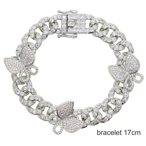 Bracciale in argento 17 centimetri