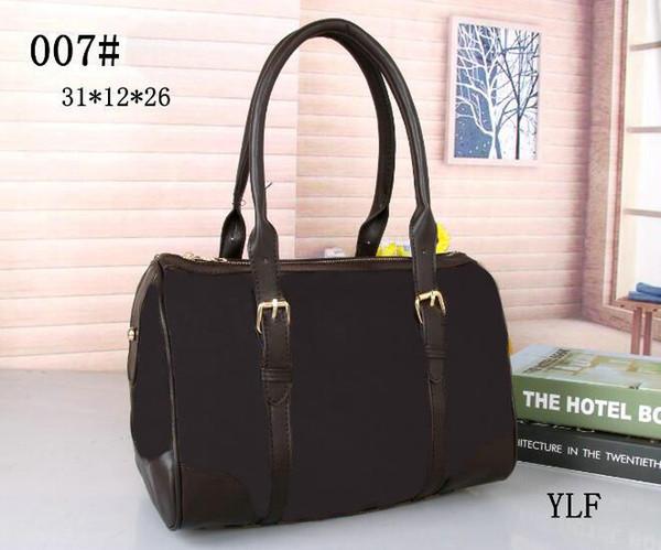 5A haute qualité en peau de vache rapide 30/12 / 26cm sacs de voyage en cuir de voyage Vente chaude sac de femmes sac fourre-tout Épaule Lady sacs à main sacs à main