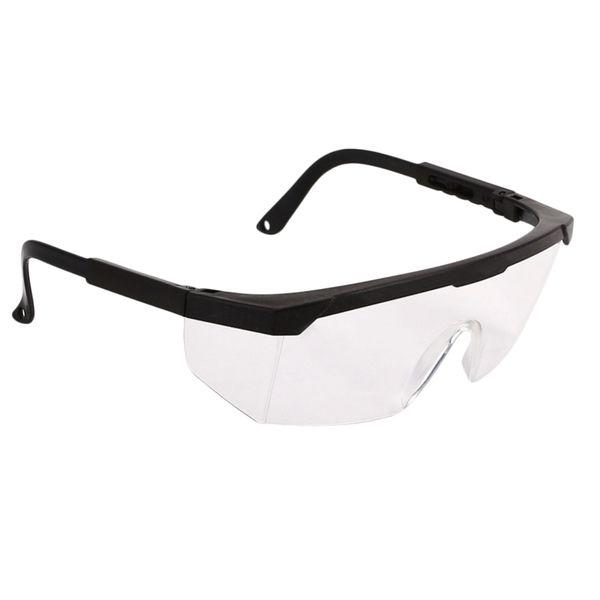 Óculos de proteção Óculos de proteção Óculos de proteção à prova de poeira e à prova de vento Preto # 8