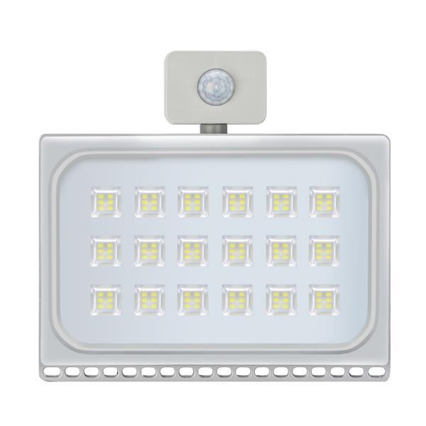 100W PIR sonde de mouvement LED lumières d'inondation Blanc Froid extérieur Jardin Lampe Bâtiment Projecteurs