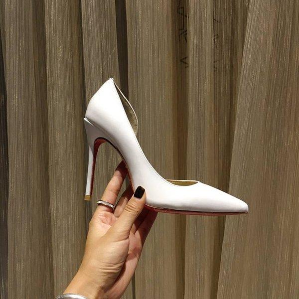 Bianco (tallone altezza 8,5 centimetri)