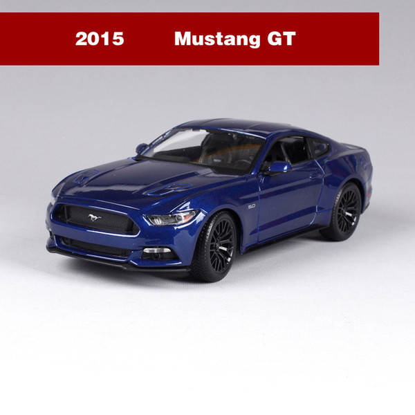 2015 Mustang GT Blue