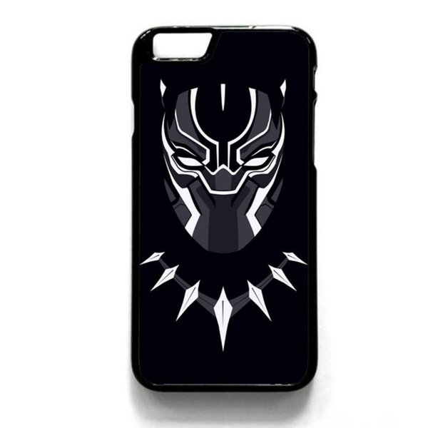 New Black Panther Marvel Comic Phone Case For Iphone 5c 5s 6s 6plus 6splus 7 7plus Samsung Galaxy S5 S6 S6ep S7 S7ep