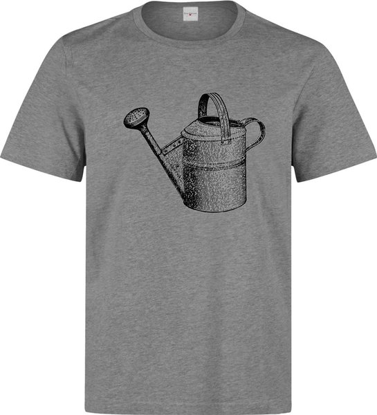 Water Can Vintage Gardening Tool Art Men's (woman's available) grey t shirt Trump sweat sporter t-shirt fan pants t shirt