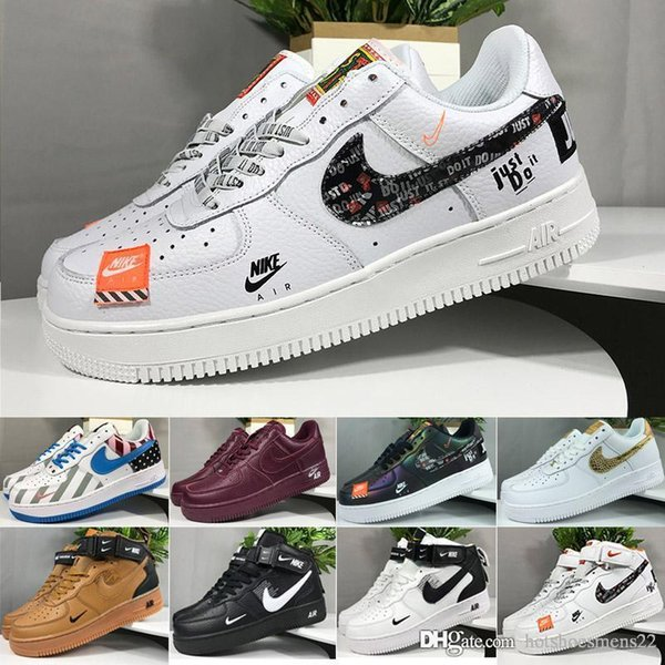 2019 New Arrivals Forces Volt Running Shoes Women Mens Trainers Forced Sports Skateboard Classic Green White Black Warrior Sneakers J6951