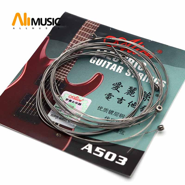 top popular Guitar Strings Alice A503 Electric Guitar Strings 009 - 042 Set String 6 MU0251-T 2019