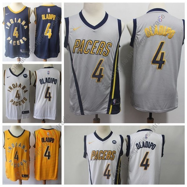 super popular c1065 1207d 2019 2019 Earned Mens #4 Edition Indiana Victor Oladipo Pacers Basketball  Jerseys Top Quality City Victor Oladipo Edition Stitched Shirts S XXXL From  ...