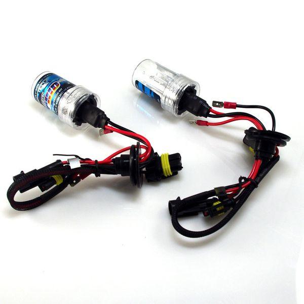 2 PCS Car Styling 12 V 35 W Xenon ESCONDEU Farol Substituição Lâmpada Lâmpada Do Carro luz H1 H3 H4 H7 H11 9005 9006 380 880 D2C / S