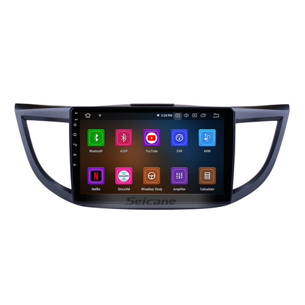 10.1 Inch Android 9.0 Car Multimedia Player for 2011-2015 Honda CRV high version with Bluetooth GPS navigation 3G WiFi support DVR car dvd