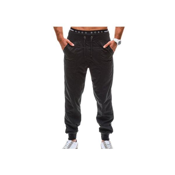 UNPADUPE Trousers 2019 Hot Sale Baggy Mens Solid color Baggy Harem Cool Long Pants Joggers Wear Plus Size M-XXXL Drawstring