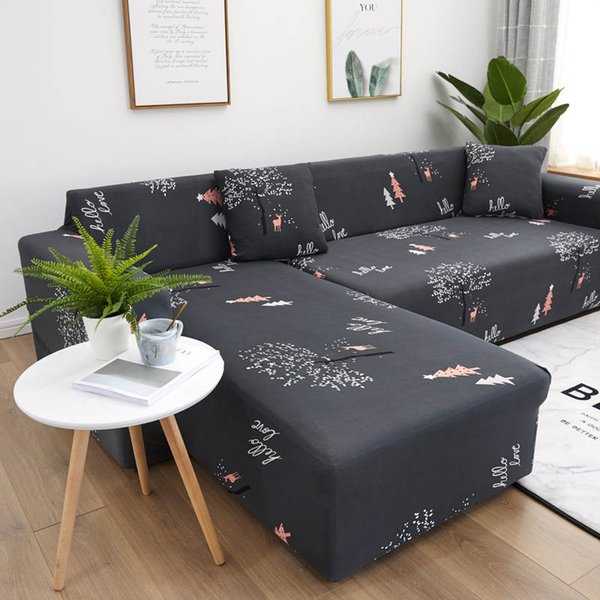 Forest Deers Sectional Sofa Cover Couch Covers With Sheet Pillow For Living  Room High Quality Of Home Furniture Protector Chair And Couch Covers Couch  ...