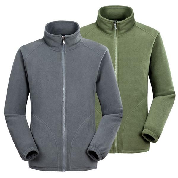 Herren Fleecejacke Militärische Taktische Softshell Jacken Armee Winter Winddicht Warme Arbeitskleidung Männlichen Casual Schwarz Thermo Mantel # 512548